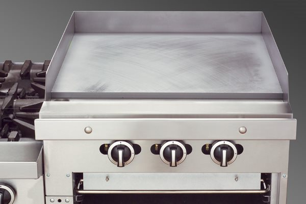 Raised Griddle Broiler